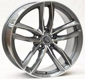 "19"" AUDI A5 S5 A4 WHEELS GREY 255/35R19 TYRES S-LINE RS6 Rockdale Rockdale Area Preview"
