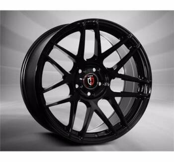 20 INCH GLOSS FORD FG ALLOY MAG RIMS BLACK CONCAVE CURVA 300 Banksia Rockdale Area Preview
