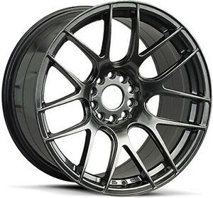"Xxr 530 18"" chromium black Subaru Mitsubishi 225/40r18 Tyres Rockdale Rockdale Area Preview"