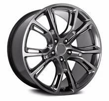 "Jeep srt spyder monkey 22"" wheels chromium black tyres package Sydney City Inner Sydney Preview"
