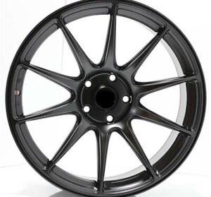 18 INCH BMW 3 SERIES BLACK 5X120 AVID WHEELS $580 HOLDEN TESLA