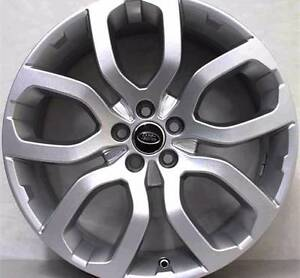 """NEW 22"""" RANGE ROVER WHEELS TYRES SILVER AUTOBIOGRAPHY SPORT VOGUE Sydney City Inner Sydney Preview"""