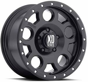 18 INCH XD126 BLK HILUX PACKAGE TYRES RIMS KMC 4X4 Sydney City Inner Sydney Preview