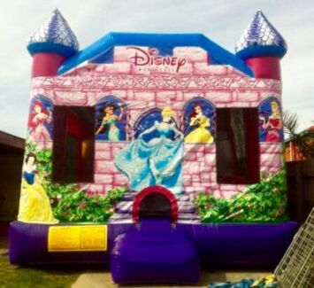 Princess Combo C4 Jumping Castle