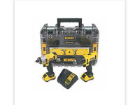 Dewalt twin set of drills