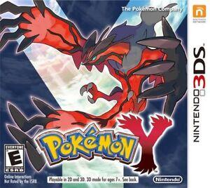 Pokemon Y - Used - No Case - Good Condtion - 15$