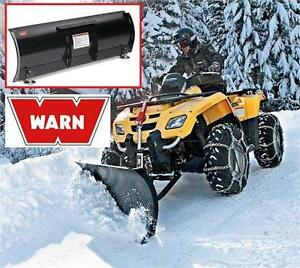 "NEW WARN STRAIGHT PLOW BLADE 54"" UNIVERSAL SNOW PLOW REMOVAL 79210410"