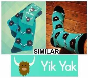 NEW YIK YAK HIGH SOCKS UNISEX   CASUAL NOVELTY CLOTHING MALE FEMAIL CLOTHES FASHION SHOES 98367341