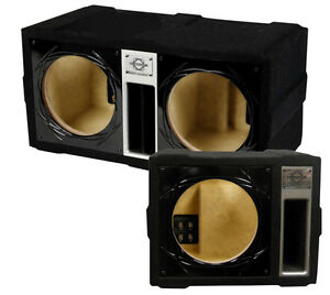 "BassWorx Dual 12"" Ported Enclosure Competition Series"