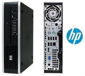 HP 8000 ELITE CORE 2 DUO DESKTOP COMPUTER - AS-IS