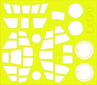 Eduard Accessories Ex170 - 1:48 Do 335A-12 Pfeil Für Tamiya Bausatz - Maskierfol