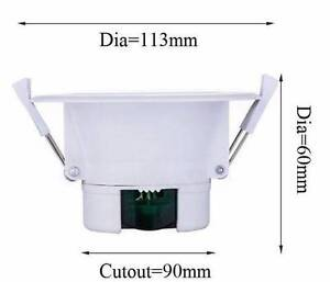 10W LED DOWNLIGHT CE DIMMABLE 90MM CUTOUT COOL/WHITE Melbourne CBD Melbourne City Preview