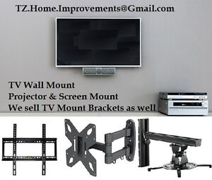 TV Wall Mount & Project Screen Mount - Free Estimate
