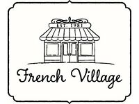 Management of all levels required for Baker Street & French Village Restaurants