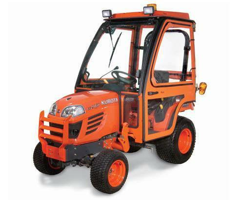 Side by side compare sub compact tractors