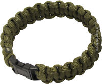 PARACORD SURVIVAL BRACELET - Ideal for Emergencies - New !