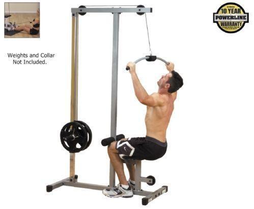 lat pulldown machine weights