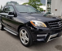 Personal Driver With Luxury Mercedes Benz ML 2015