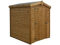 ** SALE ** 8x6 12mm tongue and groove shed delivered & fitted anywhere in northern ireland save £100