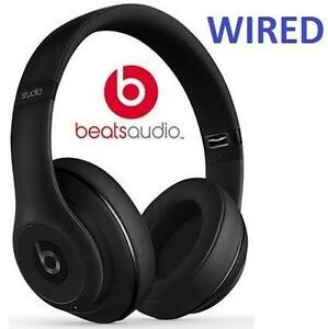 NEW BEATS STUDIO 2.0 HEADPHONES WIRED - OVER-EAR - MATTE BLACK DR DRE WIRED 103851560