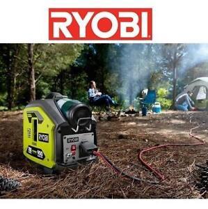 NEW* RYOBI 900W INVERTER GENERATOR RYi911LP 202286448 PROPANE POWERED