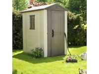 Keter 6x4 Plastic Shed Selling for £395 !!