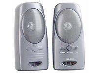 COLORS IT SP-168 PC Speakers (Silver)
