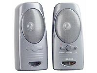 COLORS IT SP-168 PC Speakers (Silver)