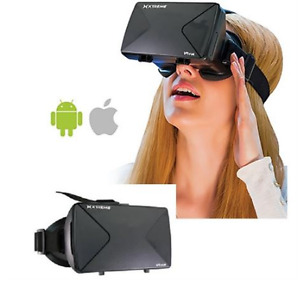"""VIRTUAL REALITY 3D VIDEO GLASSES FOR 3.5""""~5.6"""" SMARTPHONES"""