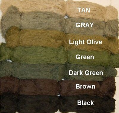Ghille Suits Synthetic Ghillie Thread - Tan (Cheap Ghillie Suits)
