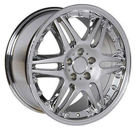 Mercedes Monoblock Wheels Chrome