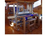 Floor Loom 16 Shaft Computerised AVL Series A with Complete Weave System OA £7000