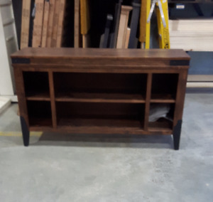 NEW Solid Wormy Maple TV Stand