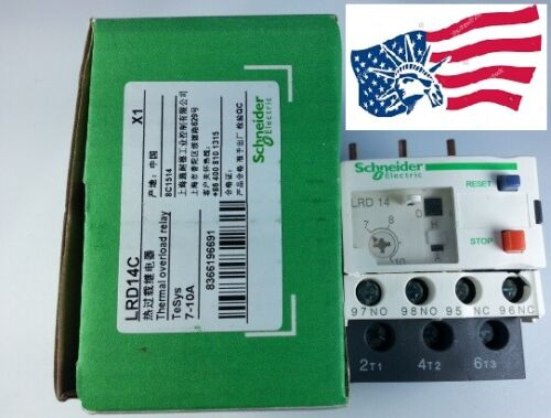 LRD14C  Thermal Overload Relay  7-10 Amp.