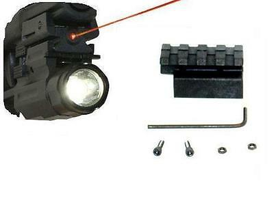 Low Profile Laser Sight With Flashlight Combo For Smith And Wesson Sigma Sw9ve