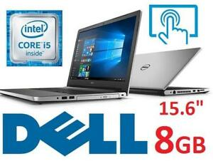 REFURB* DELL INSPIRON 15.6 TOUCH PC i5559-4415SLV 138639323 LAPTOP COMPUTER INTEL I5 8GB MEMORY - NO HARD DRIVE