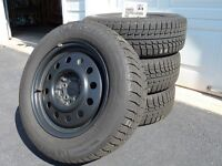 Michelin X-ice Snow Tire And Rim Package