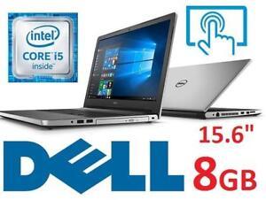 REFURB* DELL INSPIRON 15.6 TOUCH PC i5559-4415SLV 138639323 LAPTOP COMPUTER INTEL I5 8GB MEMORY - NO HARD DRIVE