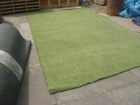 Used Artificial grass Uplifted from playing field perfect for Gardens ETC on top of decking, slabs