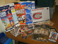 Assortment of Hockey Collectibles