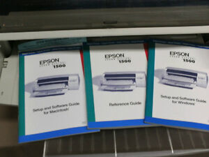 "LOWER PRICE  Epson 1500 Wide paper (14"") High Speed Ink Jet London Ontario image 2"