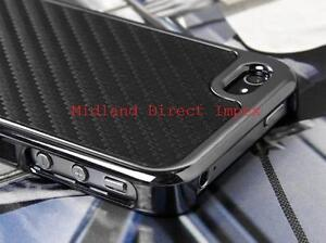 Deluxe-Stylish-Carbon-Fibre-Series-Bumper-Hard-Case-Cover-Fits-iPhone-4-4S