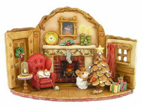 Wee Forest Folk M-510 Home at Christmas