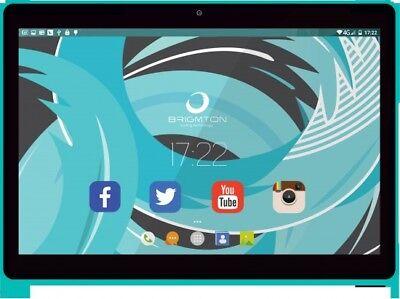 Android Tablet Brigmton BTPC-1019QC 10 pulgadas QUAD CORE 6.0 Azul segunda mano  España