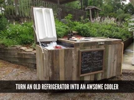 Outdoor cooler, esky, wooden drink cooler Cabramatta West Fairfield Area Preview