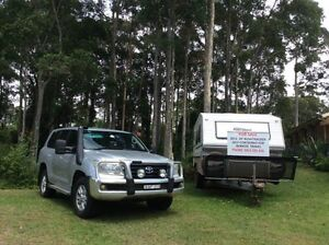 2012 20' Bushtracker Caravan + 2007 Landcruiser 200 Series Sunshine Bay Eurobodalla Area Preview