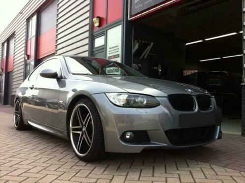 BMW 3-serie E92 E93 LCI M-tech look bodykit 10-14
