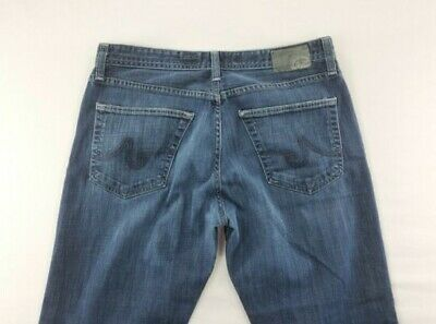 AG Adriano Goldschmied Mens Jeans The Protege Straight Leg sz 34 hemmed
