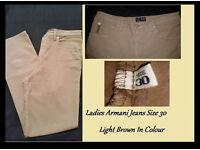 Ladies Armani Jeans 100% Genuine