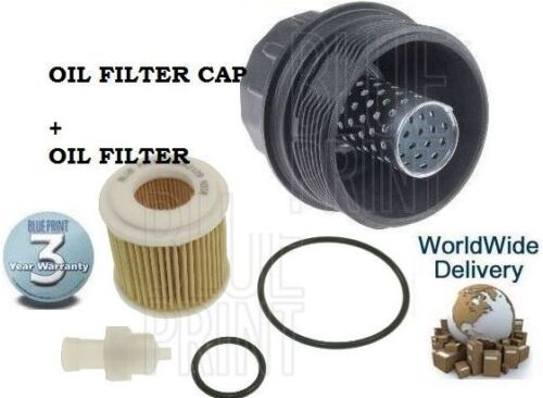 FOR LEXUS CT200H TOYOTA AURIS AVENSIS PRIUS RAV4 YARIS HYBRID OIL FILTER + CAP